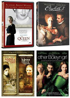 THE QUEEN + ELIZABETH I + ANNE OF A THOUSAND DAYS + more
