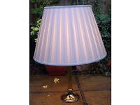 Lamps. Table Lamp. Brass Lamp. Lamp Shade