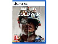 Ps5 Call Of Duty Black Cold War