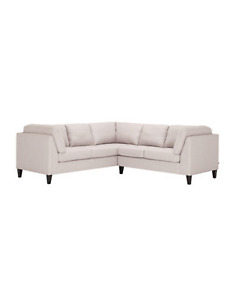 Neutral sectional sofa