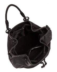 Sweaty Betty luxe bucket bag.