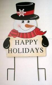 Vintage Snowman Decorations