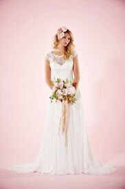 Lillie Mae Wedding Dress by Charlotte Balbier Size 6 - Available to view in London or Wakefield