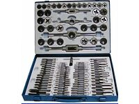 TAP AND DIE METRIC SET 110 Pc ENGINEERS PRO KIT Screw Bolt Cutter Metal Case Brite Direct Ltd.