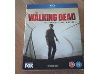 Walking Dead - Fourth Series Blu Ray DVD