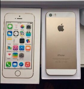IPHONE 5S 32 GIG GOLD  AVEC BELL ! AVEC EMPRUNTE DIGITAL  A1