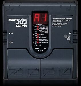 zoom 505 effects pedal