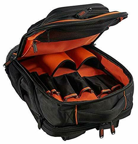 Klein 55456BPL Tradesman Pro Organizer, 25 Pockets