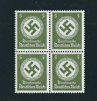 MNH  stamp block / PF05 / 1942 Issue / Nazi Swastika / Third Reich / MNH block