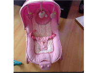 Baby girls rocker great condition
