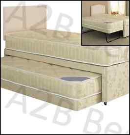 Rome Complete Divan Guest Bed + FREE Headboard = £199 (FREE DELIVERY!)