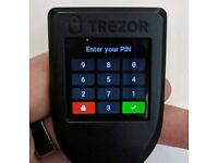 Trezor model T CRYPTOCURRENCY Hardware Wallet for Bitcoins | Dash | Litecoin | Ethereum and more