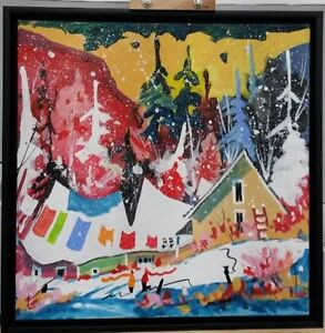 Peinture artiste Serge Nadeau
