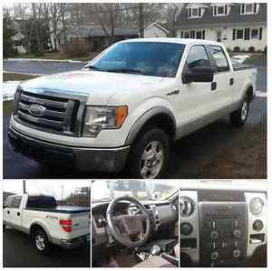 WANTED trade for ATV, our 09 Ford F-150 Crew Cab 4x4, $8880.00