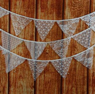 Lace Bunting (wedding)