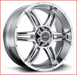 Roues (Mags) American Racing AR890 Chrome 18 X 8 pouces