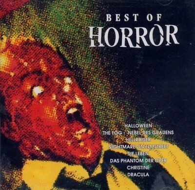 Best of Horror Halloween, The Fog, Hellraiser..  [CD]