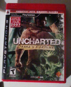 Uncharted: Drake's Fortune PS3 (playstation 3)