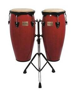 "NEW 10"" & 11"" CONGA SET RED FINISH Peregian Beach Noosa Area Preview"
