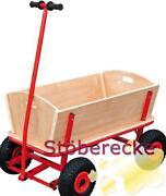 Handwagen Holz