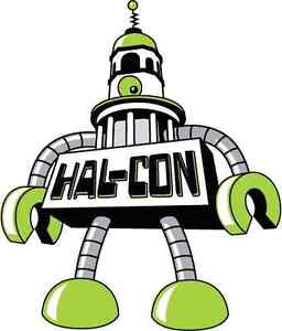 Hal Con week end SOLD OUT passes! LAST DAY!