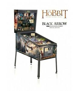 "THE HOBBIT ""Black Arrow"" Pinball - IN STOCK NOW!"
