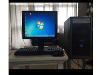 IQon desk top and iiyama monitor