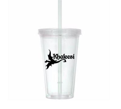 Khaleesi Mother of Dragons Game of Thrones Horror Tumbler Cup Halloween