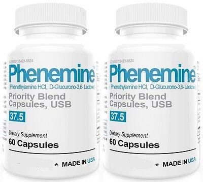 1 Phenemine Adipex 37.5 375 P Caps Best Diet Pills Suppress Appetite Suppressant 4