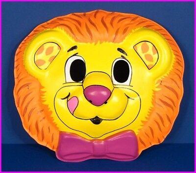 * Lucky Lemon Lion Halloween Adult Costume Mask by Hallmark Yum Yum 1989 NEW *](Lemon Halloween Costume)