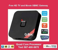 Free HD TV & Movies - NO MONTHLY FEES - 4K 1080P XBMC/KODI Box