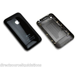 Apple iPhone 3G 8GB Back Housing Replacement Black
