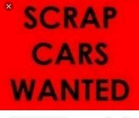 SCRAP CARS VANS MOT FAILURES WANTED