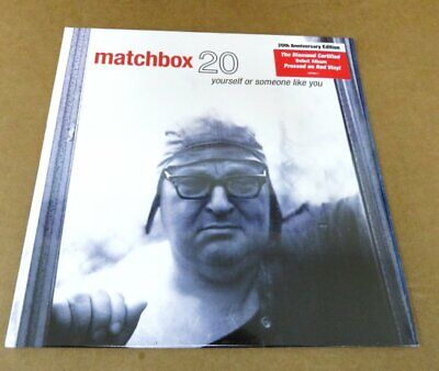 Sealed Matchbox 20 Yourself Or Someone Like You Red Vinyl 20th Anniversaey NR