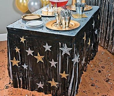 Разное Graduation Party Black Streamer Table