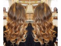 £ 150FULL HEAD MICRO RING HAIR EXTENSIONS LOOP REMY RUSSIAN QUALITY VIRGIN NANO KERATIN BONDS