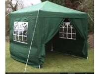 Brand New Easy to Assemble Windproof and Waterproof Pop Up Gazebo with Beautiful Side Panel Windows
