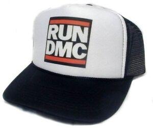 7041384c5f33c Run DMC Trucker Hat Trucker Cap Black