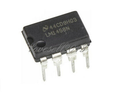 20pcs Lm1458 1458 Lm1458n Ic Dual Operational Amplifier