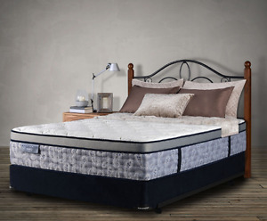New King Size Mattress from SleepCountry and Beautiful Bed Frame