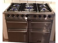 Falcon 1000 deluxe dual fuel cooker