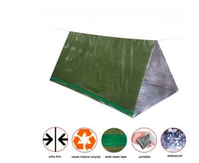 Light Life Emergency Survival Shelter Tube Bivy Sack Bag Blanket Tent Bug Out