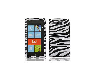 Zebra Faceplate Case (Zebra Faceplate Hard Shell Cover Phone Case for Samsung Focus Flash SGH-I677  )