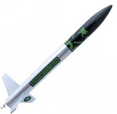 Custom Flying Model Rocket Kit Game Over 10042