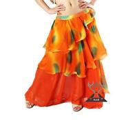 3 Layers Belly Dance Skirt