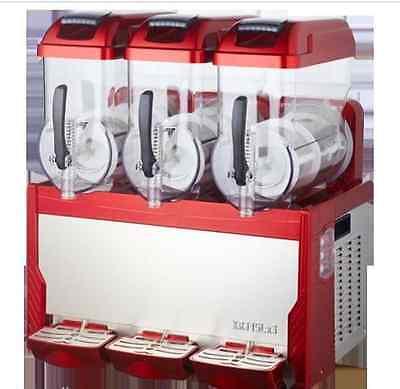 Commercial 3 Tank Frozen Drink Slush Slushy Making Machine Smoothie Makerm