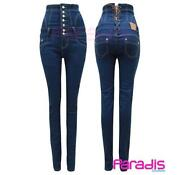 Hohe Taille Jeans