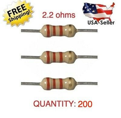200pcs Highquality 2.2 Ohm Resistor Bypass Srs Airbag Bmw Mercedes Toyota Honda