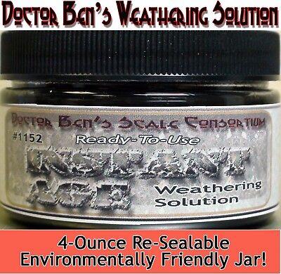 (Instant Age Weathering Solution-4oz Doctor Ben's WOOD/PLASTIC/METAL oosx42)