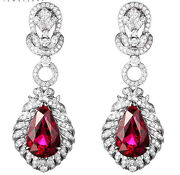 14k Ruby Earrings